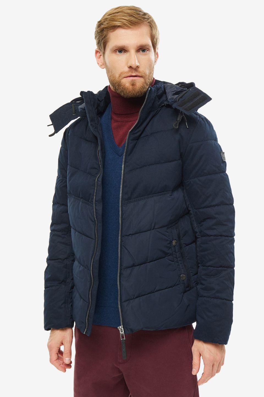 Куртка мужская TOM TAILOR 1012104-10668 синяя M фото