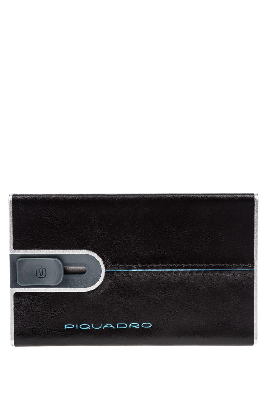 Визитница мужская Piquadro PP4825B2R черная