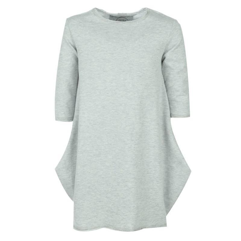Купить 2010d, Платье UNONA GO, цв. серый, 146 р-р, Платья для девочек