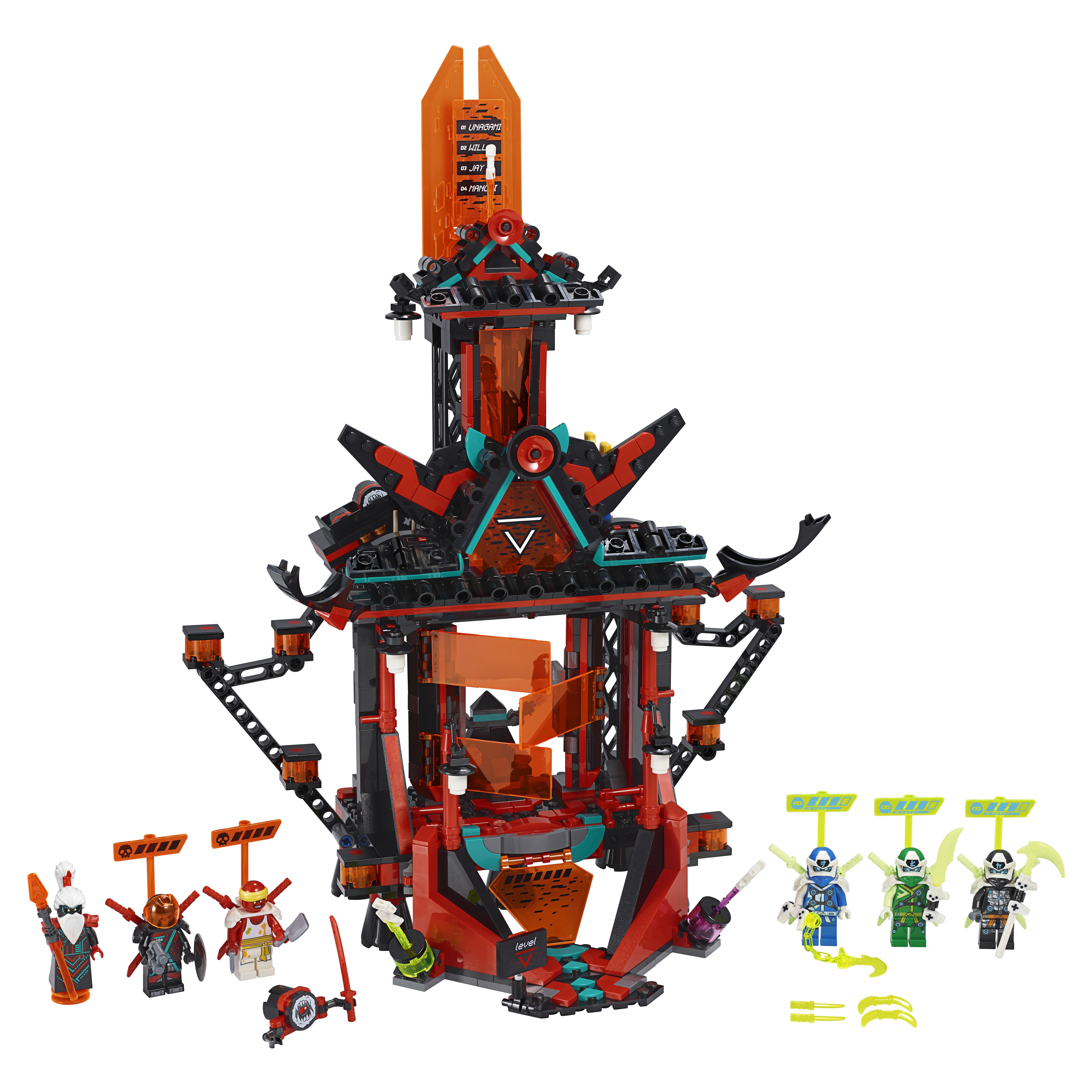 Конструктор LEGO NINJAGO 71712 Императорский храм Безумия