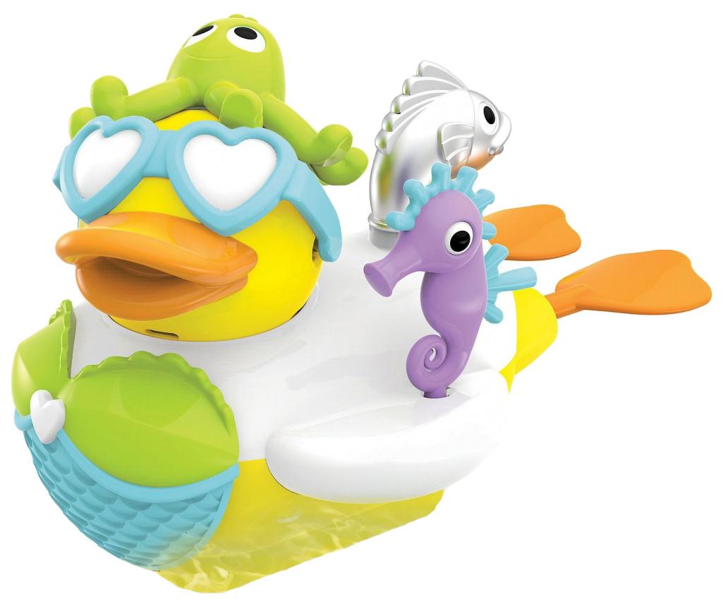Купить Интерактивная игрушка для купания Yookidoo Водная Утка-Русалка Арт. 40171, Игрушки для купания