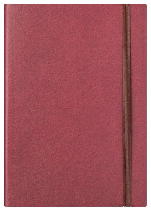 Ежедневник датированный на 2020 год Index (канцтовары) «Spectrum» А5 168 листов Бордовый