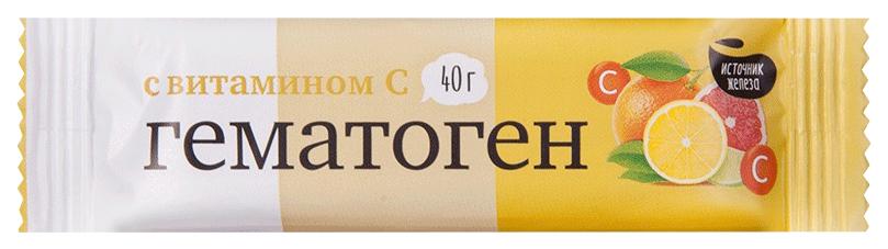Гематоген PL с витамином С 40 г