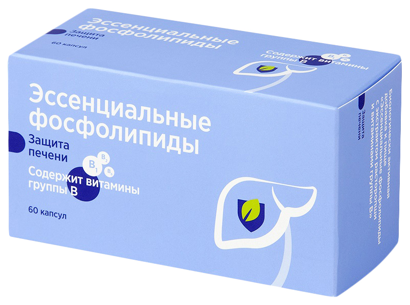 Эссенциальные фосфолипиды PL капсулы 60 шт.