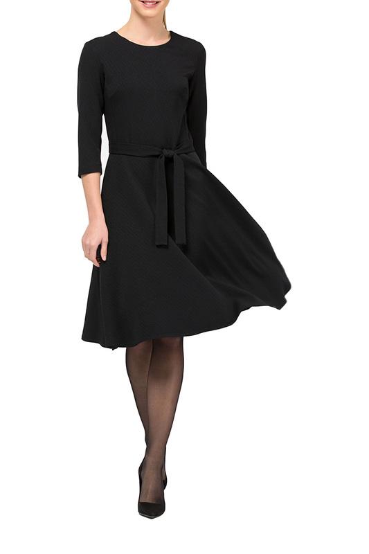 Платье женское Remix 7757 черное 48 RU фото