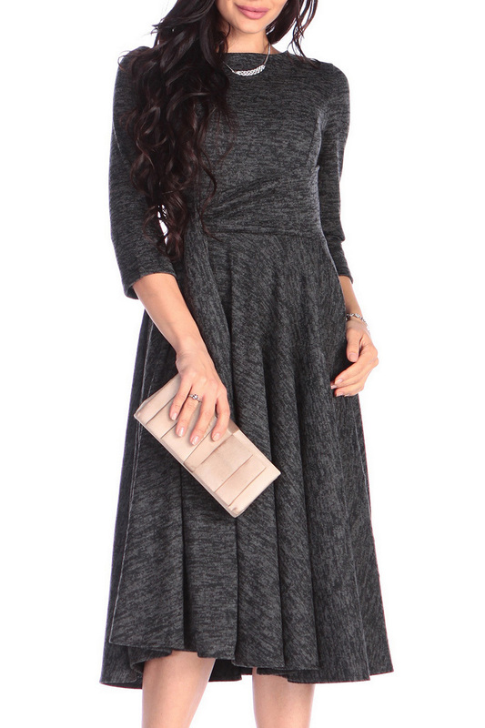 Платье женское Rebecca Tatti RR1129_1.1AN черное XS