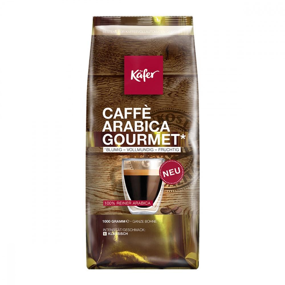 Кофе Kafer Caffe Arabica Gourmet в зернах 1000 г