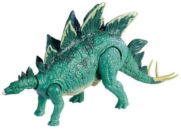 Фигурка Jurassic World Stego Боевой удар фото