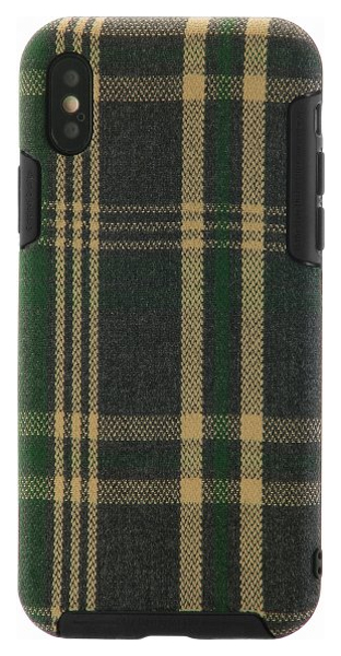 Чехол Remax Fabric Green Grid