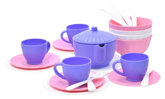 Купить Набор посуды игрушечный ПК Форма Строим дом С-181Ф, Игрушечная посуда