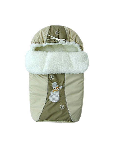 Конверт-мешок для детской коляски Золотой Гусь Снежинка 12003