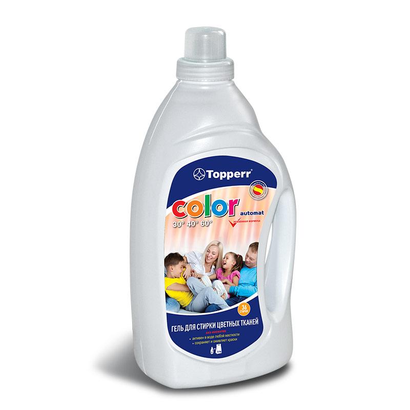 Гель Topperr color для стирки цветного белья