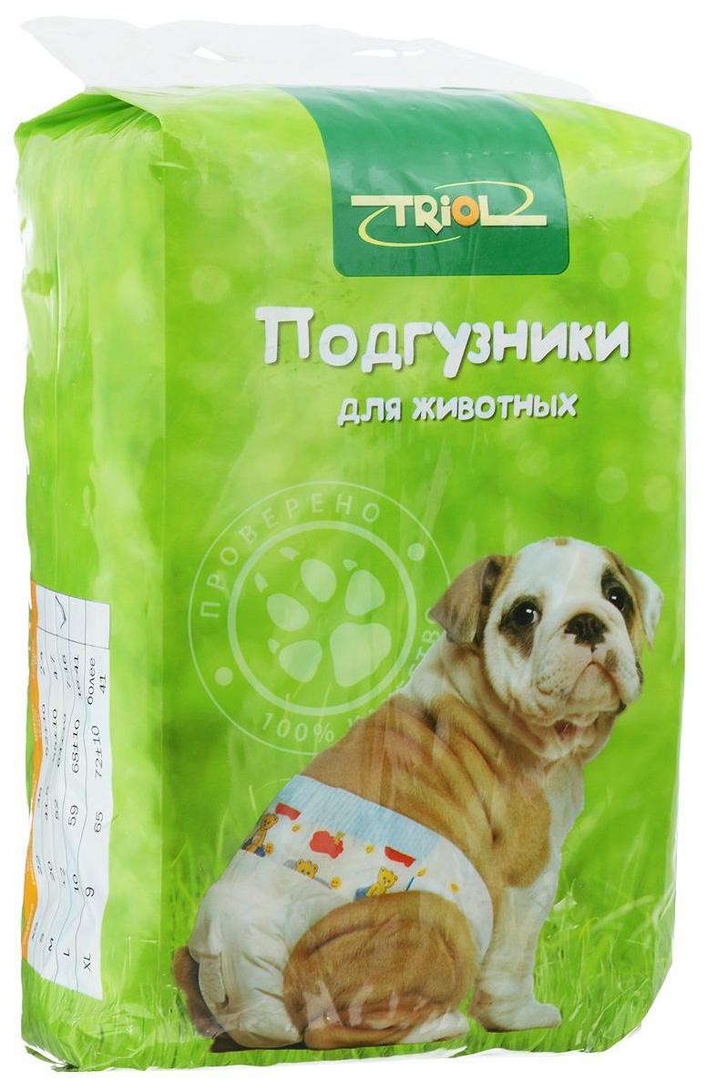 Подгузники для домашних животных Triol DP03