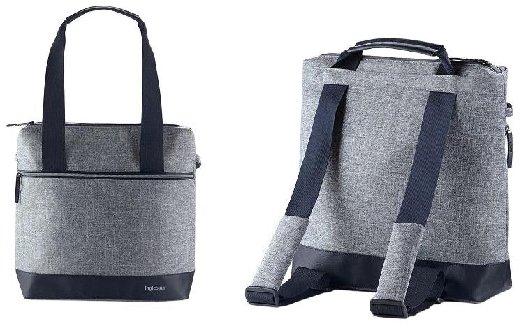 Умка-рюкзак для коляски Inglesina back bag aptica n blue melange