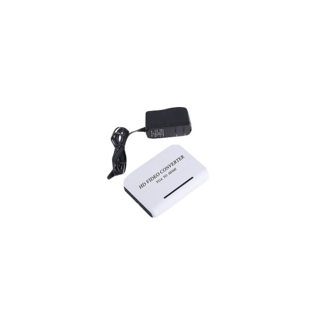 Переходник для кабеля Vconn VGA+Audio в HDMI
