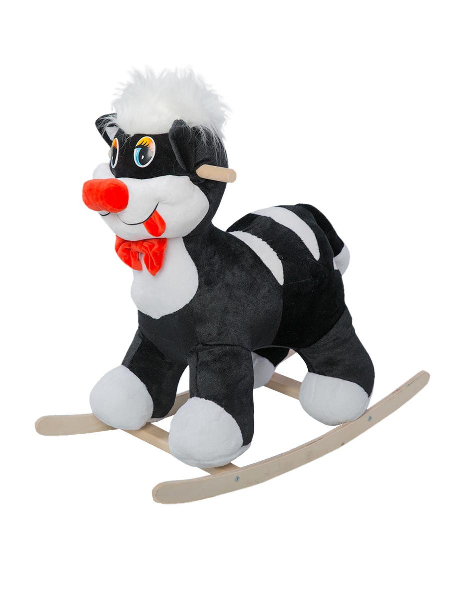 Купить Качалка ToysGo Кот черный, Качалки детские