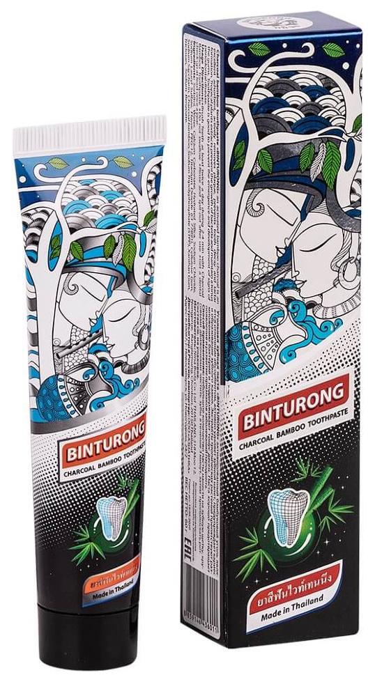 Купить Зубная паста BINTURONG Charcoal Bamboo 60 г