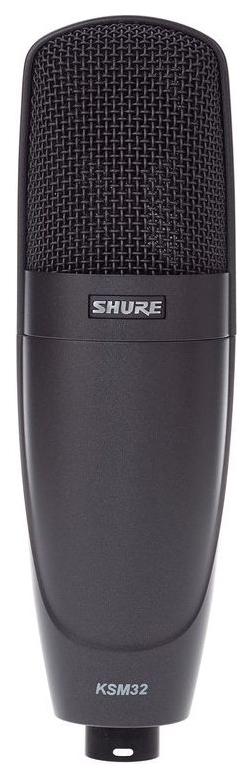 Микрофон Shure KSM32/CG студийный Уголь