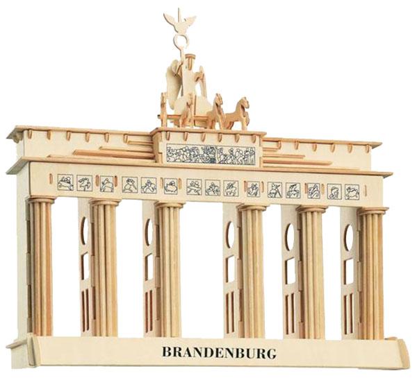 Купить Модель деревянная сборная Wooden Toys Бранденбургские ворота, Модели для сборки