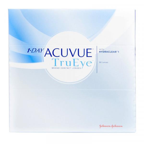Купить 1-Day TruEye 90 линз, Контактные линзы 1-Day Acuvue TruEye 90 линз R 8, 5 +4, 50
