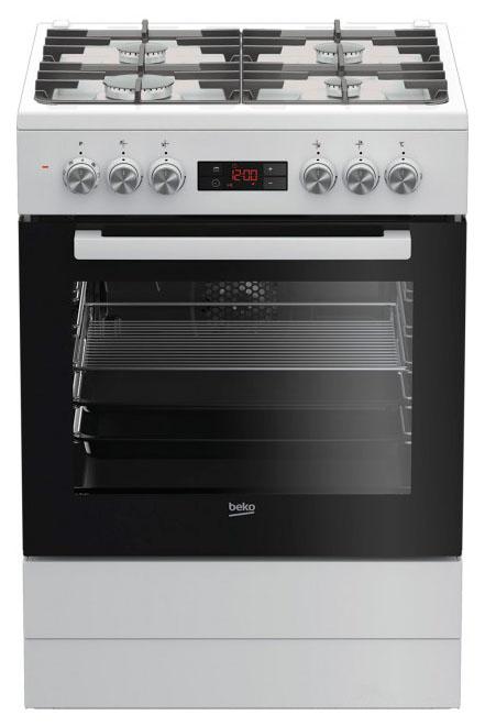 Комбинированная плита Beko FSM 62330 DWT White