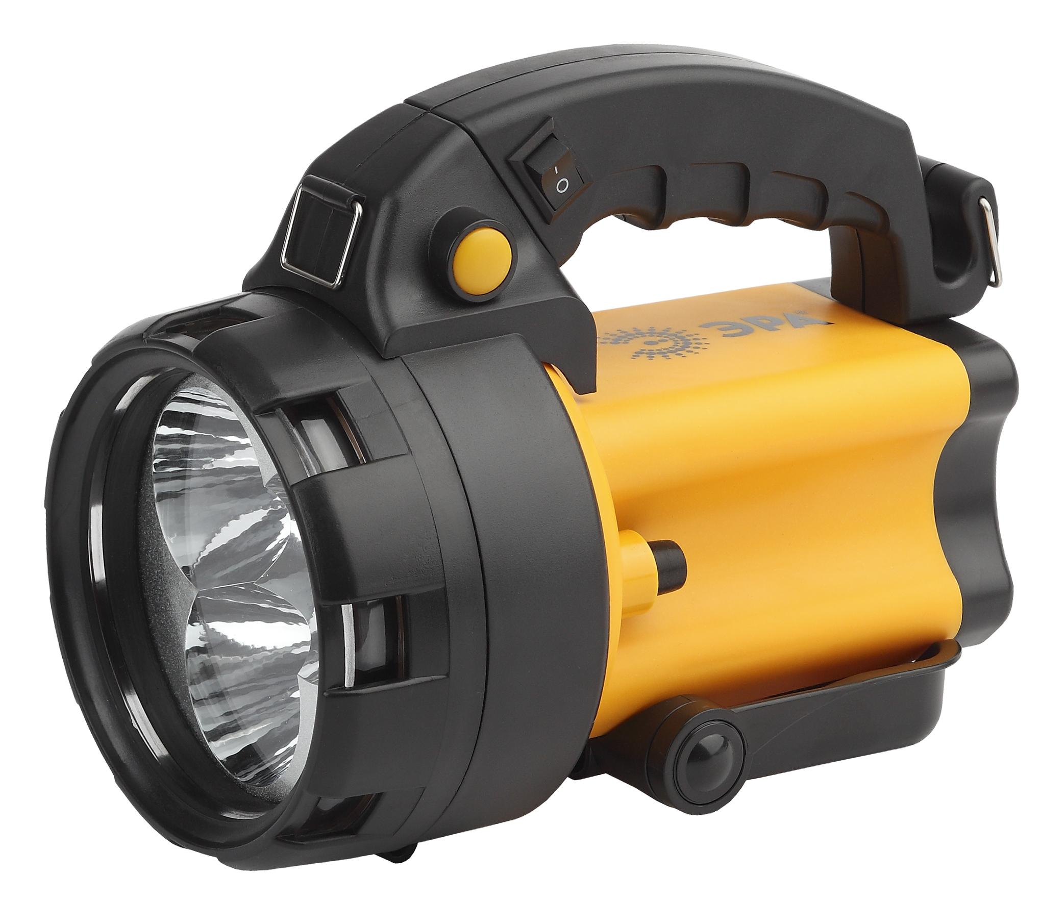 Туристический фонарь Эра Альфа PA-604 черный/оранжевый, 2 режима