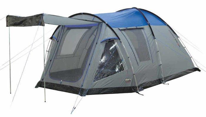 Палатка High Peak Santiago пятиместная серая/синяя