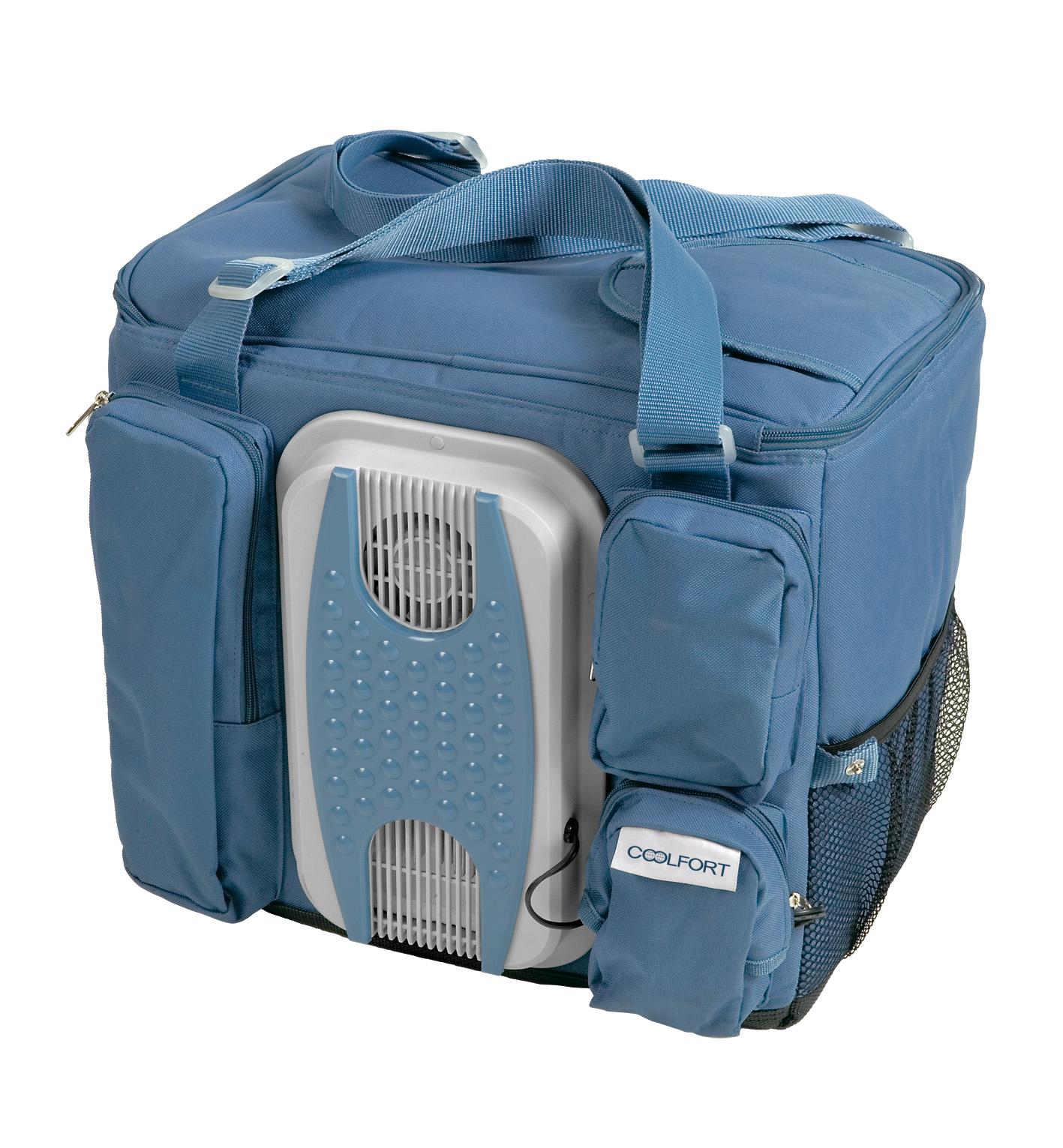 Автохолодильник Coolfort голубой