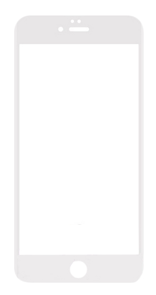 Защитное стекло Krutoff для Apple iPhone 6 Plus/iPhone 6S Plus White
