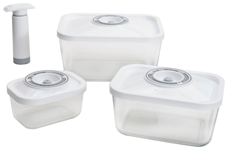 Набор контейнеров для хранения пищи Status