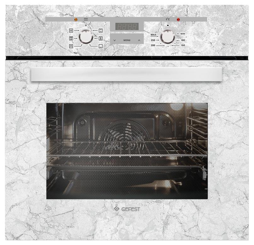 Встраиваемый электрический духовой шкаф GEFEST ДА 622-02 К52 White