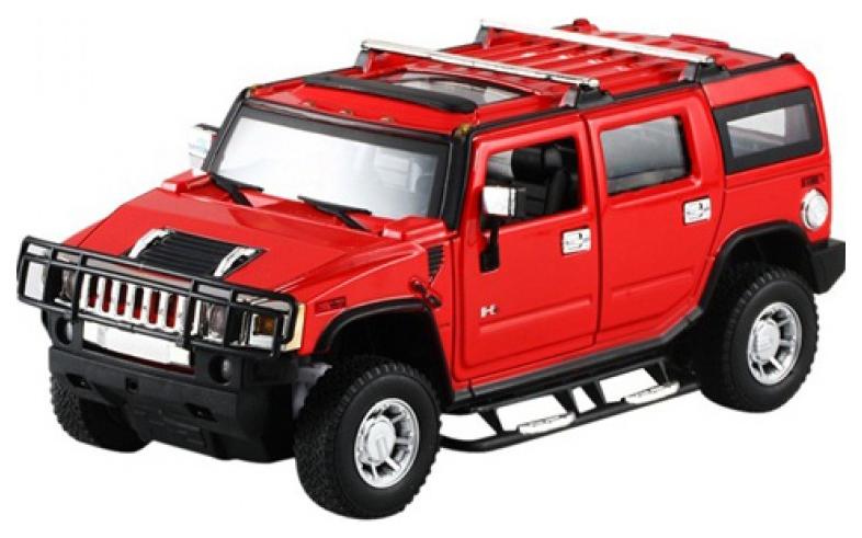 Купить Радиоуправляемая машинка Meizhi Hummer H2 Красный,