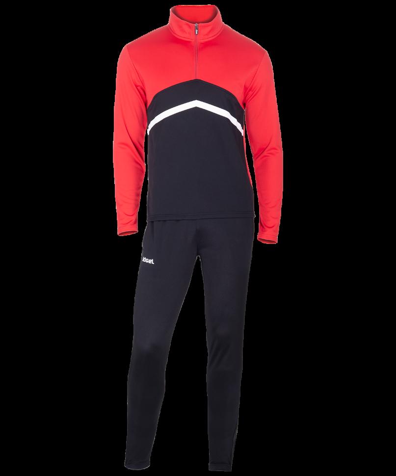 Спортивный костюм Jogel JPS 4301 621, черный/красный/белый,