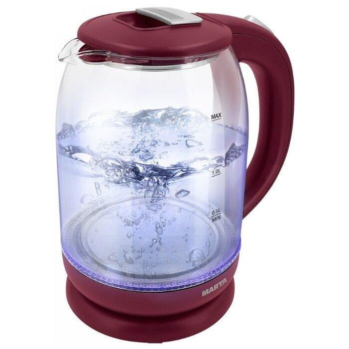 Чайник электрический Marta MT 1096 Maroon