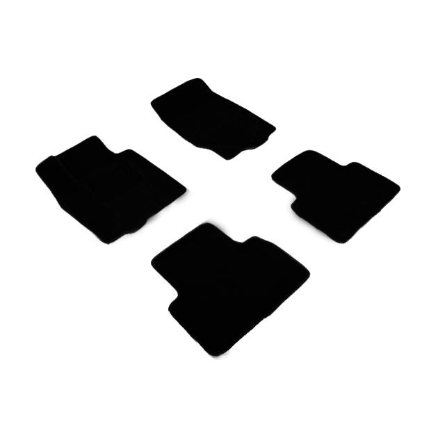Ворсовые коврики SeiNtex 3D 84973 для Toyota Land Cruiser 200 2012-2019