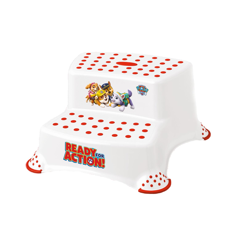Купить Подставка двойная для детей Keeeper Disney Щенячий патруль Белая, Аксессуары для купания
