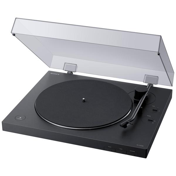 Проигрыватель виниловых пластинок Sony PS-LX310BT Black