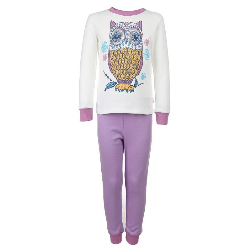 Пижама детская Bembi, цв. серый; фиолетовый р.104 P00, ПЖ39