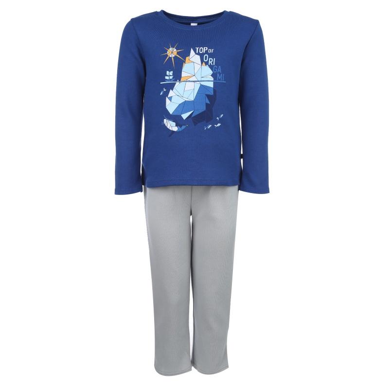 Купить Пижама Bossa Nova темно-синий р.116, Детские пижамы