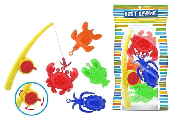 Купить Игра в рыбалку Наша Игрушка Рыбалка Удочка 100928820, Наша игрушка, Игрушки для купания малыша