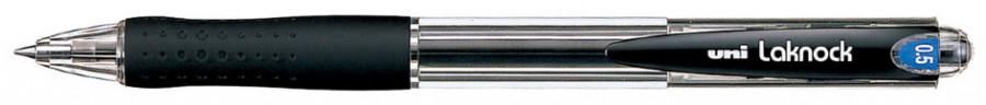Ручка шариковая UNI Laknock SN-100 (05). Линия письма: 0,5 мм. Цвет чернил: черный.