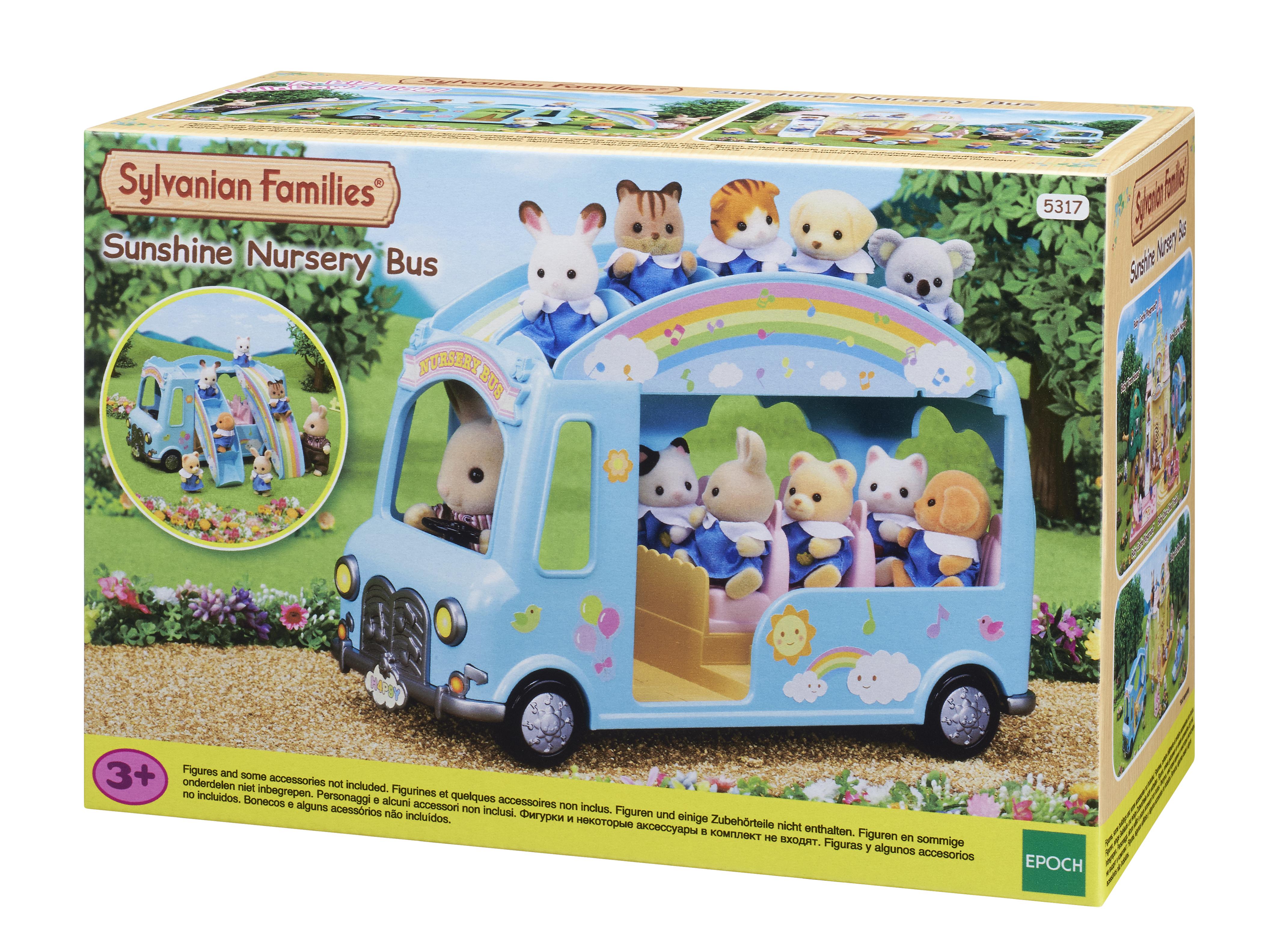 Игровой набор Sylvanian Families Автобус для малышей фото