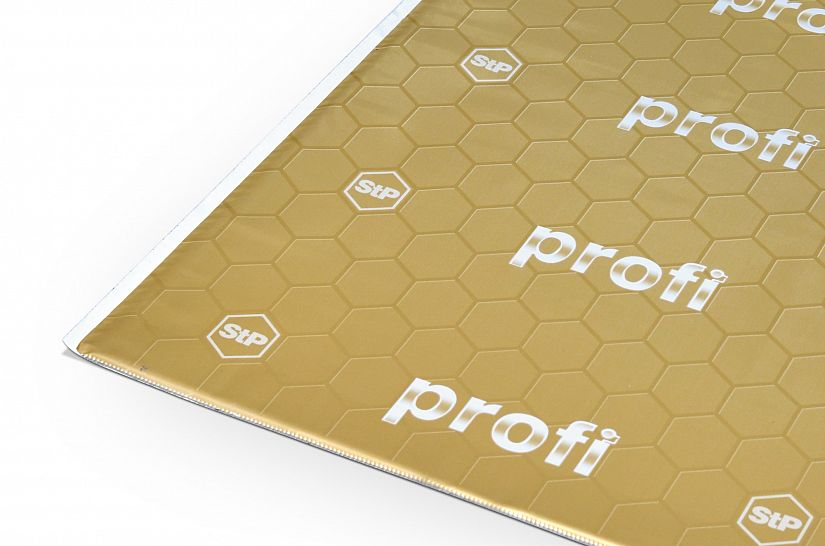 Вибропоглощающий материал для авто StP Profi Plus