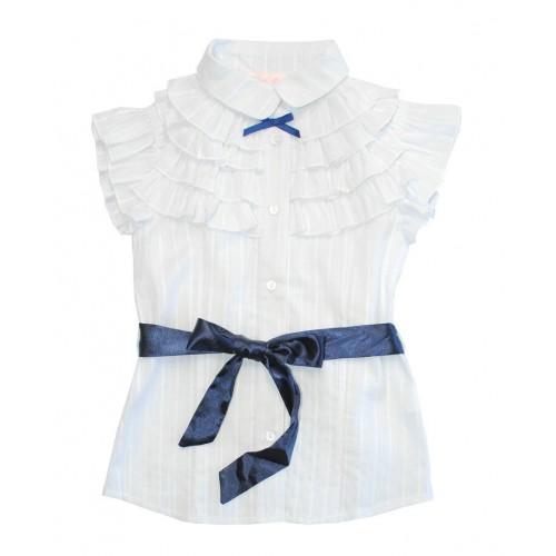 Блузка с коротким рукавом Bon&Bon Гимназистка 508 Р.140 фото