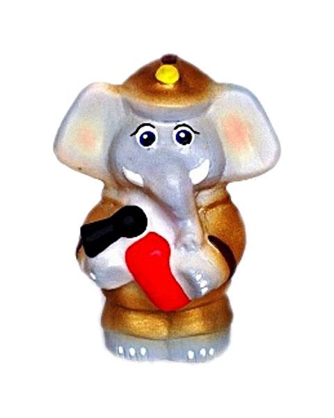 Купить Игрушка для купания Кудесники Пожарный слон СИ-490, ПКФ Игрушки, Игрушки для купания малыша