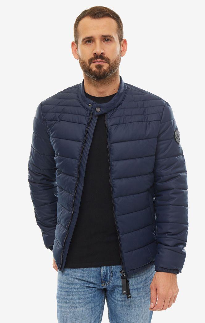 Куртка мужская Guess M93L32-WBSB0-G720 синяя/черная S