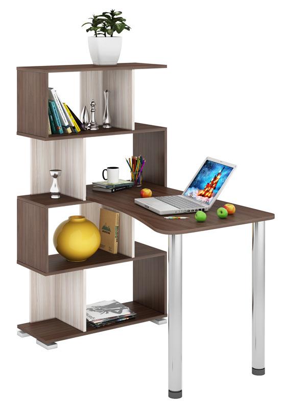 Компьютерный стол Мэрдэс СЛ-5-4СТ-2 118,2x75x139,5, шамони