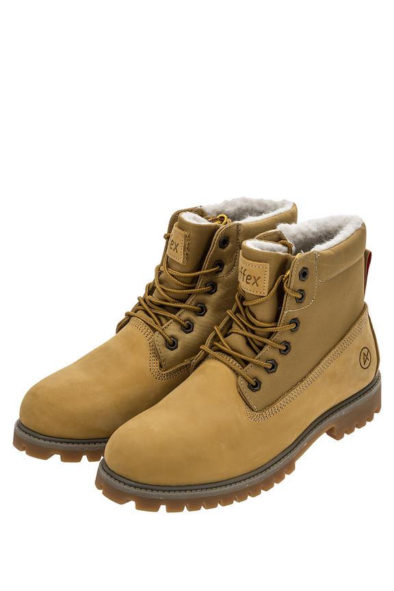 Ботинки мужские желтые AFFEX 121-NJS-DRT-M