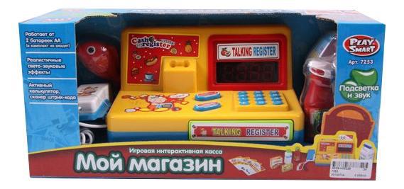 Купить Касса игрушечная play smart р41055, PLAYSMART, Игрушечные кассы