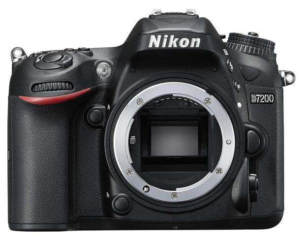 Фотоаппарат цифровой зеркальный Nikon D7200 Body Black фото